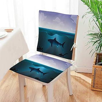 Amazon.com: Mikihome – Cojín para silla (juego de 2) e ...