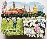 Wat Prakeo Sanam Luang Bangkok Thailand Resin 3D fridge Refrigerator Thai Magnet Hand Made Craft. by Thai MCnets