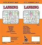Lansing, Michigan Street Map