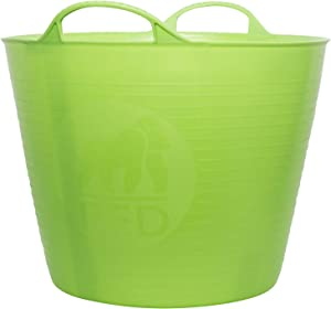 TubTrug SP26PST Medium Pistacio Flex Tub, 26 Liter