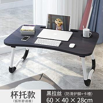 Mesa de Cama Ajustable Simple Cama Plegable Estudio Cama portátil ...