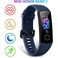 HONOR Band 5 Fitness Armband mit Pulsmesser,Wasserdicht IP68 Smartwatch