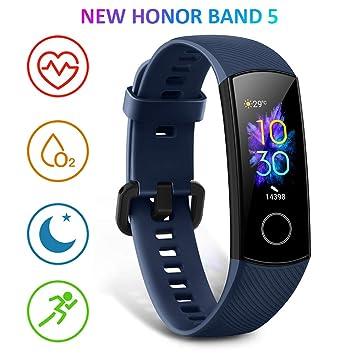 HONOR Band 5 smartwatch,Pulsera de Actividad Inteligente Reloj Impermeable IP68 con Pulsómetro,Monitor de Actividad Deportiva, Fitness Tracker con ...