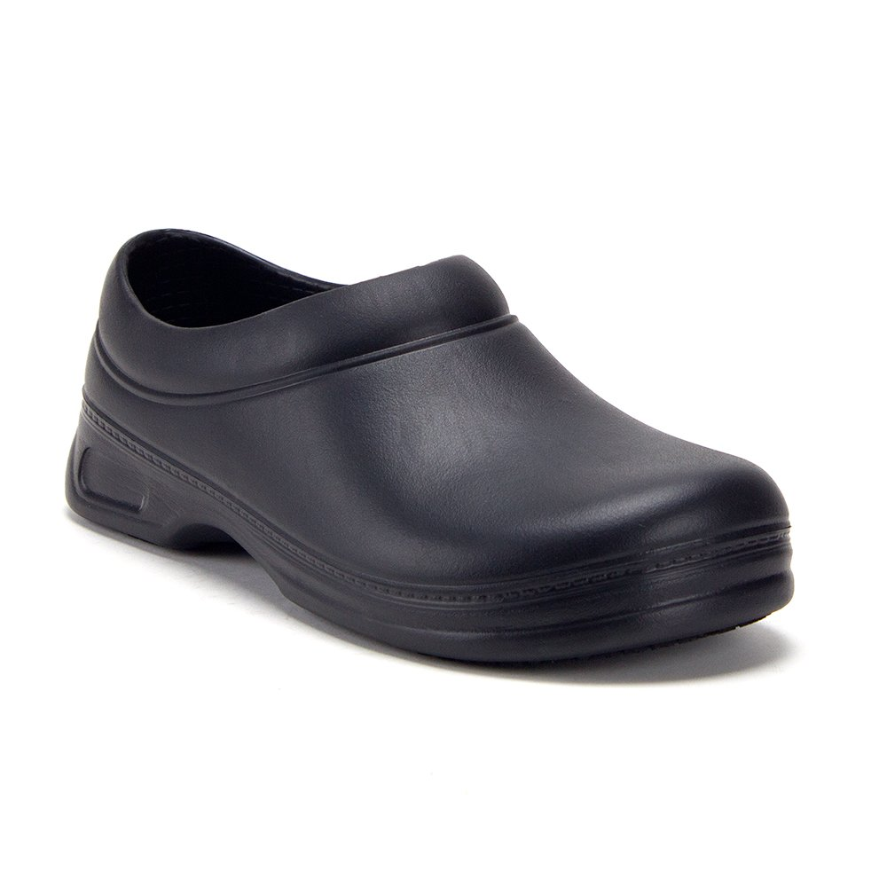 J'aime Aldo Men's Gofa-1 Health Care Food Service Clogs Shoes, Black, 11