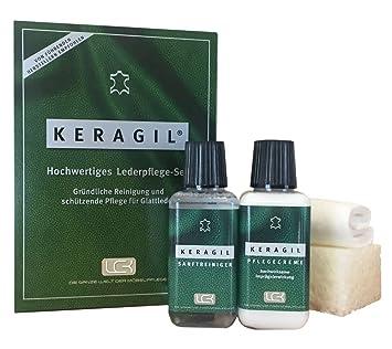 KERAGIL Lederpflege Set, Je 150 ML Reiniger und Pflege von LCK ...