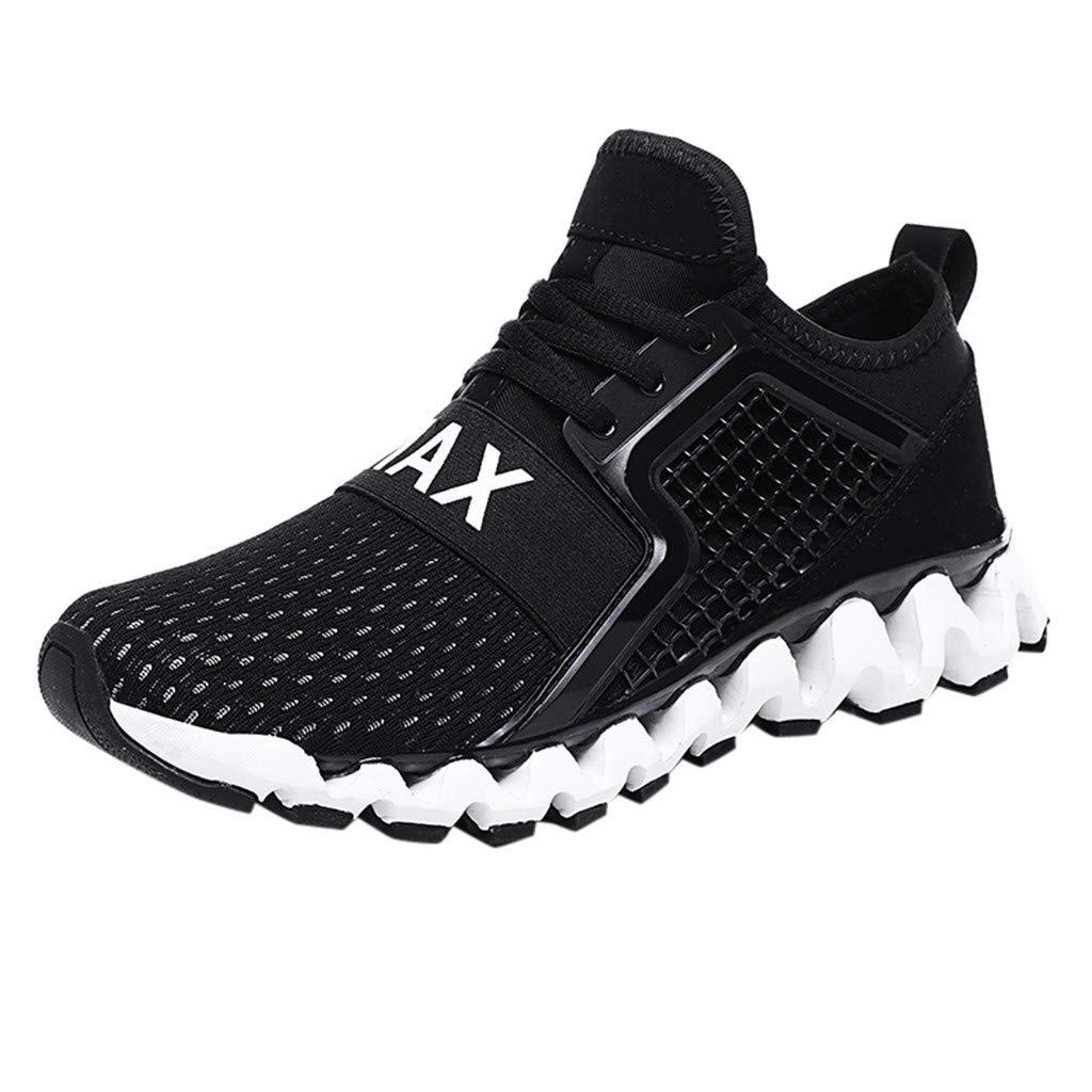 CUTUDE Laufschuhe Herren Fitness Atmungsaktiv rutschfeste Mode Sneaker Sportschuhe Männer Großen Größe Arbeiten Bequeme Abnutzungs Gehende Schuhe