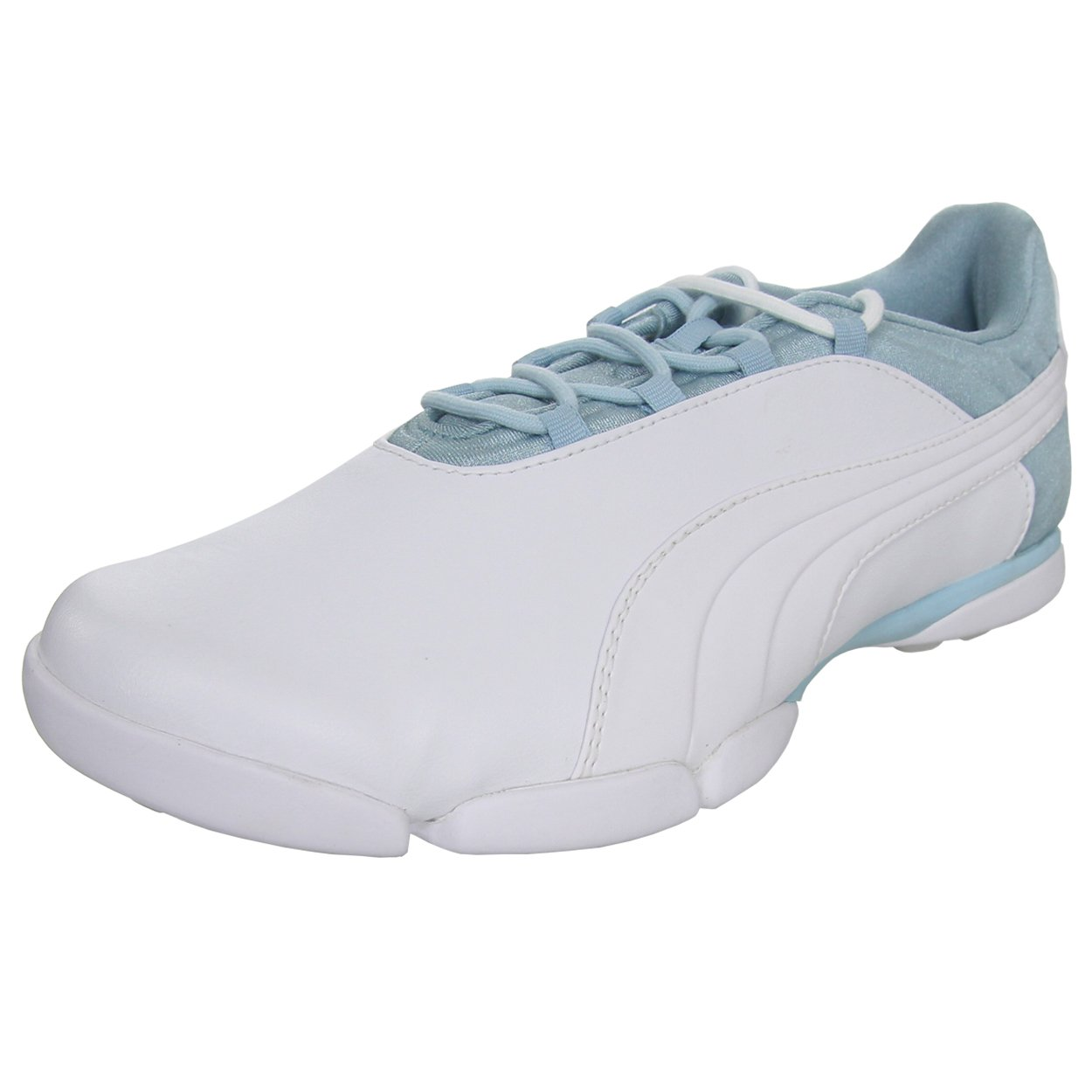 PUMA Golf Women's Sunnylite V2 White/Cool Blue/Gray Violet Sneaker 6 B (M)