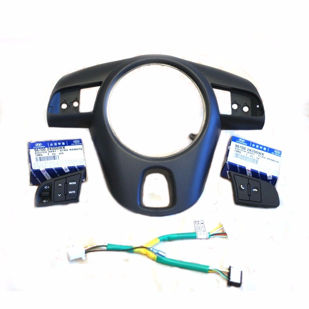 Steering Wheel Handle Remote Control 4Pcs for KIA 2009-13 Forte Koup OEM Parts