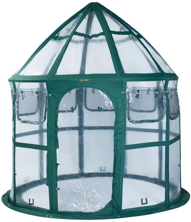 Amazon.com : Flower House FHCV900 Conservatory Clear Greenhouse ...