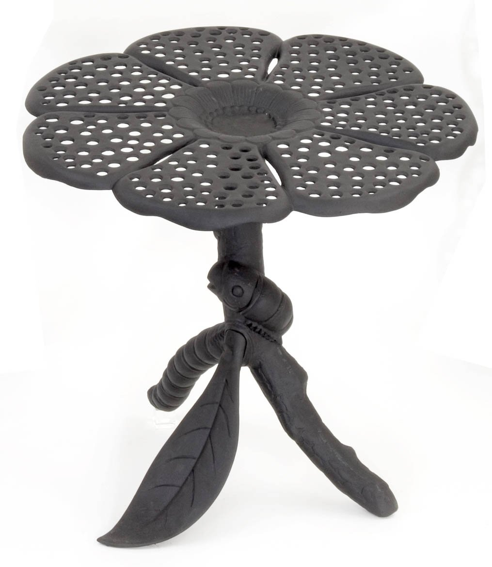 Butterfly chair black - Amazon Com Flowerhouse Black Aluminum Butterfly Table Fhbfta07 Patio Dining Tables Patio Lawn Garden