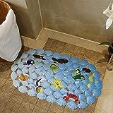 CLG-FLY Bath mat bath shower mats toilet bathroom floor mat door mats sucker anti-slip mat,38x69cm,Finding Nemo