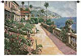 ''Bella Amalfi'' Woven Tapestry Wall Hanging 70'' X 50'' Italy