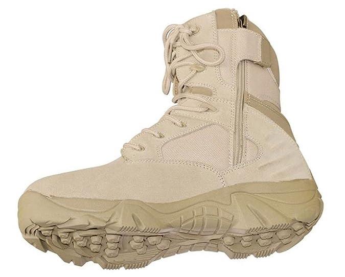 Tactical MCA Motonave Outdoort Delta Force para Botas en Color Negro o Beige Talla 38-47, Color Negro, Talla 41