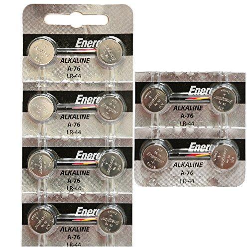 ([ Strip of 12 ] Energizer A76/LR44 (A76BP), SR44, L1154, 1.5v Alkaline Batteries)