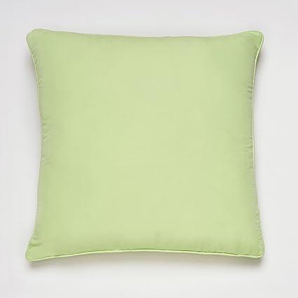 Sancarlos Cojin Decorativo Sensación Verde - Incluye Relleno - con Cremallera - Tacto Muy Suave y Agradable
