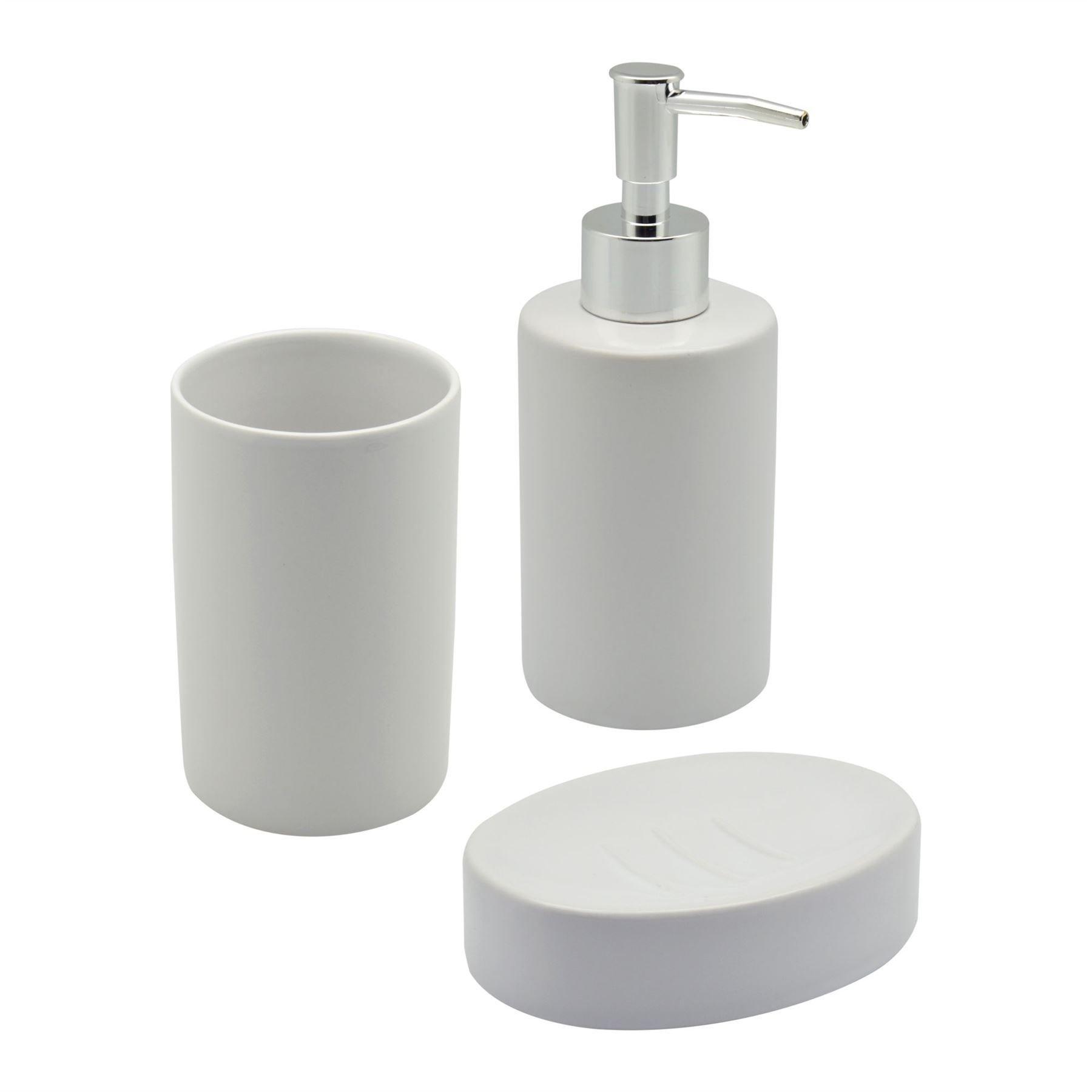 Soap Dish and Dispenser Bathrooms: Amazon.co.uk