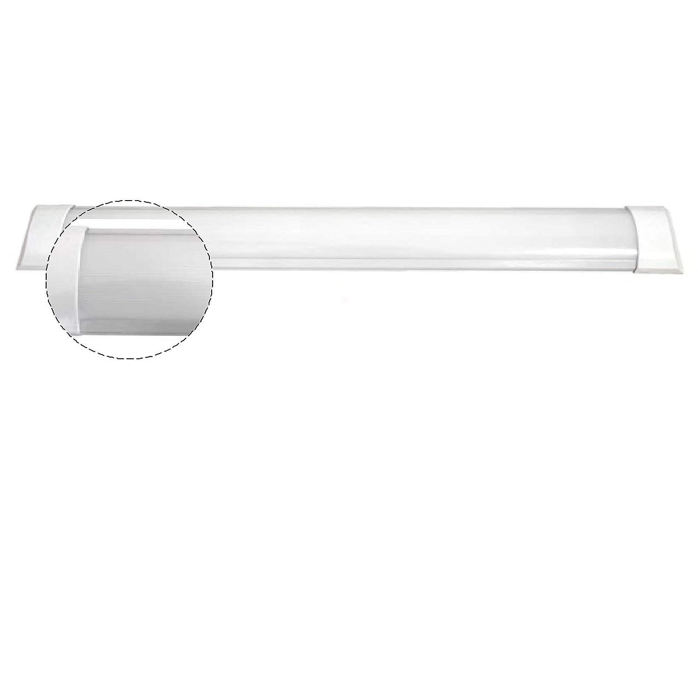 Regleta LED Superficie 36W 6.000K 6.000K 6.000K Blanco Frio 120cm 5b5fe4