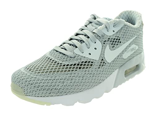 pick up 0a58e 69bee Nike Men s Air Max 90 Ultra Br Plus QS Running Shoe Pure Platinum White   Racer Blue 11.5 D(M) US  Buy Online at Low Prices in India - Amazon.in