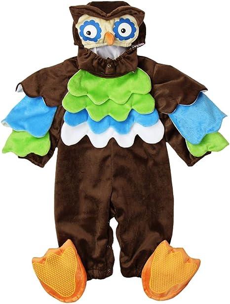 Ann Sang disfraz de Halloween de búho pájaro bebé mono Talla:6-12 ...