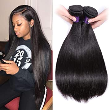 IUEENLY Brazilian Virgin Remy Straight Hair
