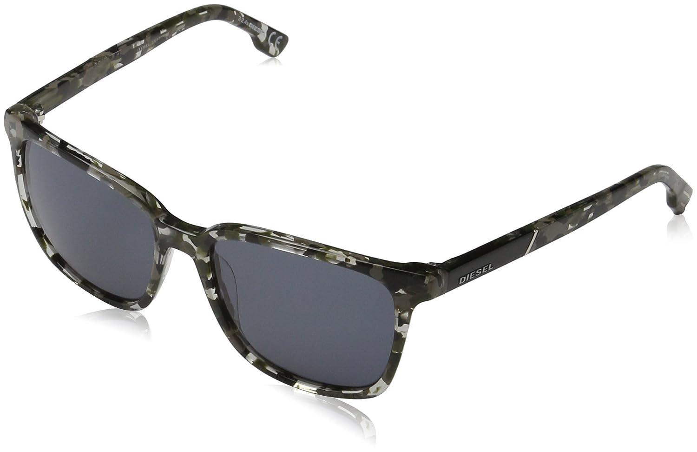 Diesel Unisex Sonnenbrille DL0122, Mehrfarbig (Mehrfarbig 52V), Medium