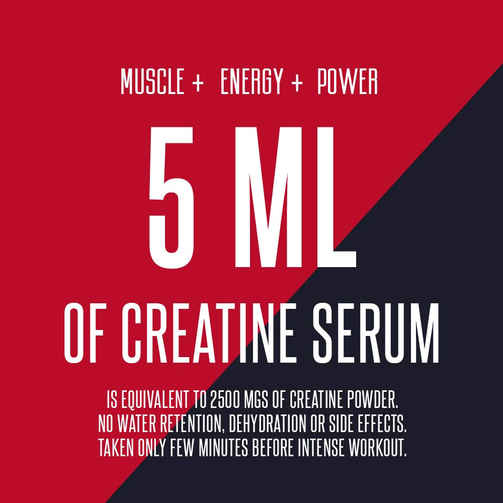 ATP Adenosine Triphosphate Creatinol Serum by MMUSA, Pre Workout for Energy Strength, Joint Protection, Stamina and Builds Lean Muscle Mass. Glucosamine Sulfate. Anti inflammatory. Cherry