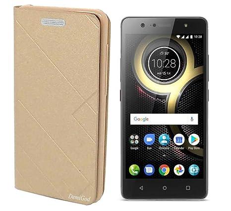 purchase cheap 38239 30d04 Lenovo K8 Plus Flip Cover, Premium Imported Caidea: Amazon.in ...