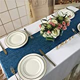 Koyal Wholesale Sequin Table Runner, 13 by 108-Inch, Turquoise