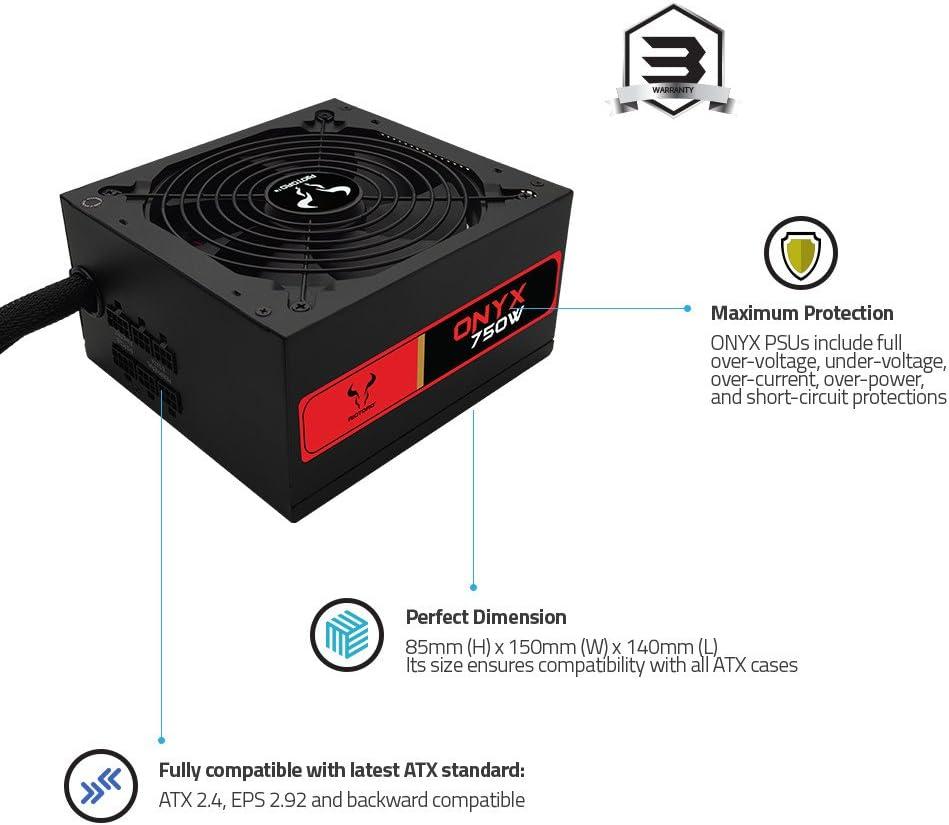RIOTORO Onyx PR-BA0750-SM Power Supply Unit