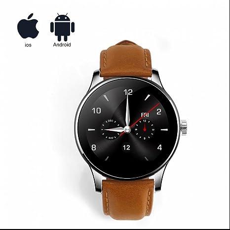 Deportes al aire libre Reloj inteligente Bluetooth,Reloj inteligente de frecuencia cardíaca,Sedentario Recordatorio