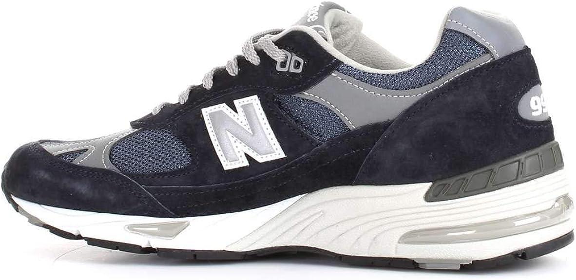 Luxury Fashion   New Balance Hombre NBM991NV Azul Zapatillas   Temporada Outlet: Amazon.es: Zapatos y complementos