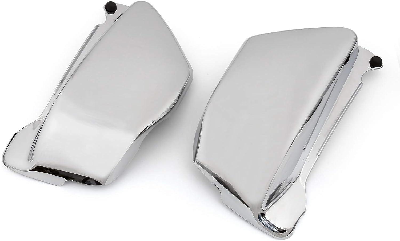 Artudatech Battery Side Fairing Cover Chrome For Honda Magna VF 750 VF750C 1994-2004