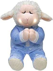 Cuddle Barn Animated Plush Little Lamb Pray with Me Pals Collection - Nate The Lamb (CB4787)