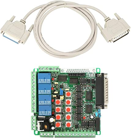 CNC Stepper Motor Driver 6 Axis Breakout Board card with Optical isolation