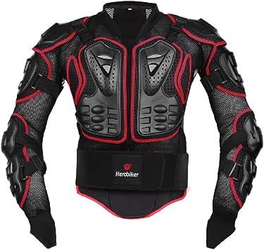 AKAUFENG Motocicleta Protector Chaqueta Protektor Camisa Moto S – 5 x l, MTB – Protecciones Ropa Chaqueta de protección, Hombre, Rojo, XXXX-Large: Amazon.es: Deportes y aire libre