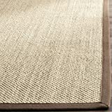 Safavieh NF141C-6SQ Area Rug, 6' Square, Maize/Brown