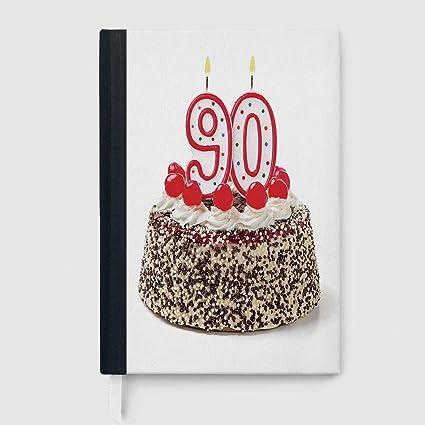 Amazon Casebound Hardcover Notebooks 90th Birthday