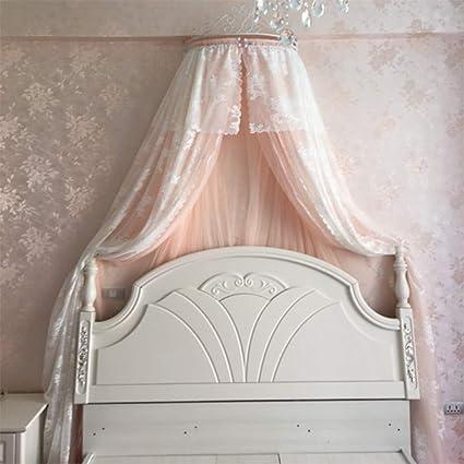 HOMEJYMADE Corona la cúpula mosquitera,Doseles de Cama de la Princesa Niños casa Princesa la