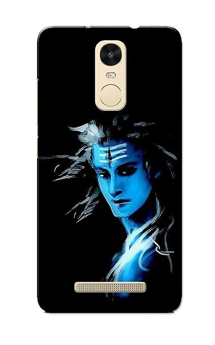new concept c389e 836e2 Caseria Lord Shiva Slim Fit Hard Case Cover for Xiaomi Mi Redmi Note 3