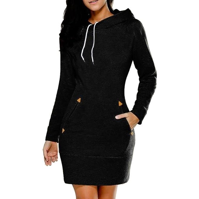 sudaderas mujer invierno 2017 Switchali vestidos mujer manga larga abrigos de mujer casual sudadera con capucha