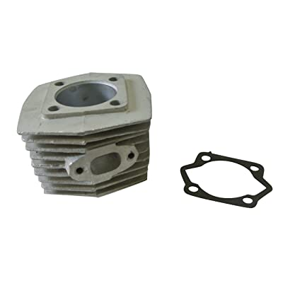 JRL 47mm Engine Barrel Cylinder Bore Fit 66cc 80cc 2 Stroke Motorised Motorized Bicycle: Automotive