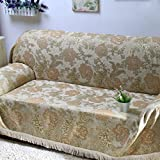 European style sofa towel full cover sofa cover Chaise longue cover slip sofa a full A 180x360cm(71x142inch)