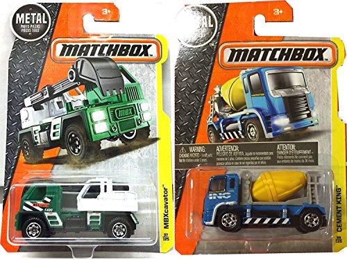 matchbox-mbx-construction-bundle-set-cement-king-blue-mbxcavator-green-matchbox-truck-vehicles