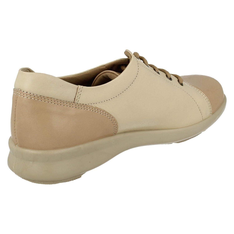 10b7de68cb EASYB Easy b DB Phoebe Ladies Leather Lace Casual Shoe in 2E, 4E, 6E and 8E  Fittings: Amazon.co.uk: Shoes & Bags