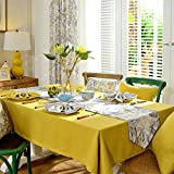 Fabric Rectangles Of Cloth,American-style Garden Coffee Table Cloth,Table Runner The Living Room Restaurant-A 130x240cm(51x94inch)