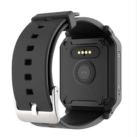 Reloj inteligente GPS para hombre KW06 con monitor de frecuencia ...