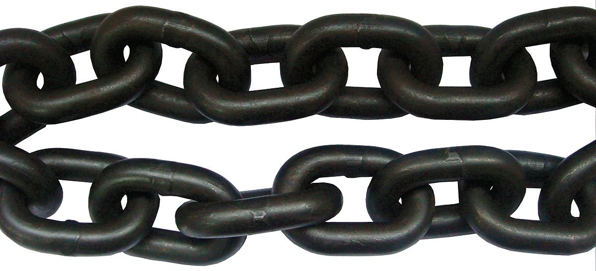 Dayton 5WRR1 Chain, Grade 80, WLL7100Lb, 3/8In, 10Ft