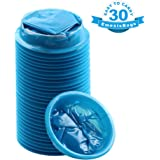 YGDZ Top Quality 30 Pack Blue Emesis Bags Blue Waste Disposal Bags Shipping by FBA