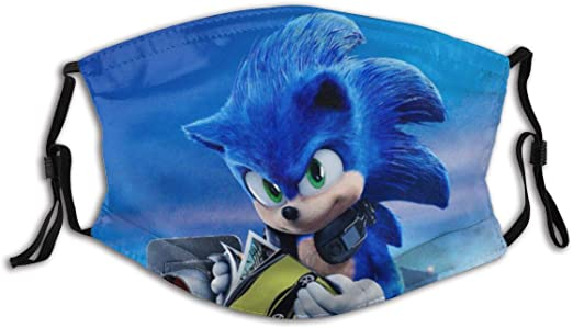 Nsz Halloween Sonic The Hedgehog Adult Mouth Face Mask Sonic Tails Windproof Sports Mask Outdoor For Women And Men At Amazon Men S Clothing Store