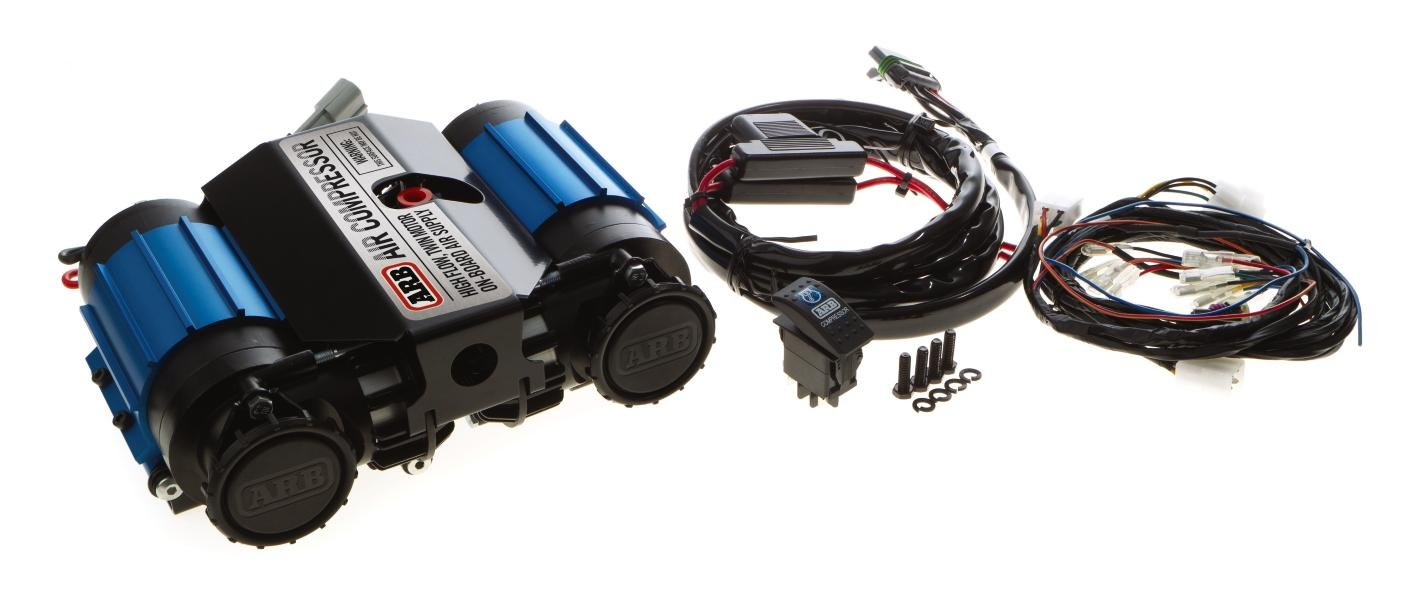 ARB CKMTA12 '12V' On-Board Twin High Performance Air Compressor